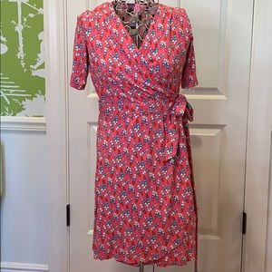 SS Lilly Pulitzer wrap dress